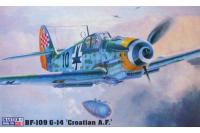 "Истребитель BF-109 G-14 ""Croatian A.F"" (Mister Craft C151) 1/72"