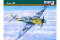 """Сборная модель Истребитель Bf-109 F4 """"Hann"""" (Mister Craft C35) 1/72"""
