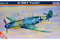 Истребитель Bf-109G-2 'Trautloft' (Mister Craft C69) 1/72