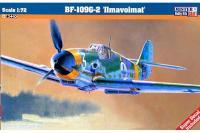 """Сборная модель Истребитель Bf-109-2 """"Ilmavoimat"""" (Mister Craft C76) 1/72"""