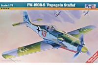 Сборная модель Истребитель Fw-190 D-9 Papageien (Mister Craft C08) 1/72