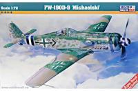 Сборная модель Истребитель Fw-190 D-9 Michaelski (Mister Craft C09) 1/72
