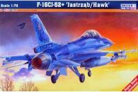"""Сборная модель Истребитель F-16C-52 """"Jastrzab/Hawk"""" (Mister Craft D116) 1/72"""