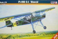 Сборная модель Самолет Fi-156 C-1 Storch (Mister Craft D211) 1/72