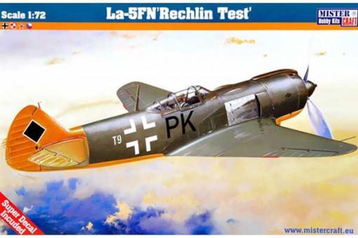 """Сборная модель Истребитель La-5 N """"Rechlin Test"""" (Mister Craft D24) 1/72"""