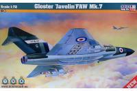 "Сборная модель Перехватчик Gloster ""Javelin"" (Mister Craft D26) 1/72"