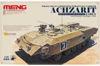 Сборная модель - Achzarit (Ахзарит) израильский тяжёлый БТР раннего выпуска (MENG TS-003) 1/35