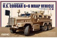 U.S. COUGAR 6x6 MRAP VEHICLE (MENG SS-005) 1/35