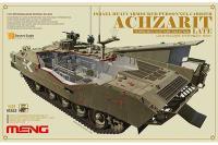 Сборная модель - Achzarit (Ахзарит) израильский тяжёлый БТР (MENG TS-008) 1/35