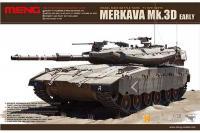 Сборная модель - Merkava Mk.3D (ранний) израильский основной боевой танк (MENG TS-001) 1/35