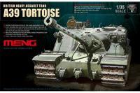 Сборная модель - A39 Tortoise британский штурмовой танк (MENG TS-002) 1/35