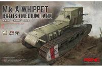 Сборная модель - Mk.A Whippet британский средний танк (MENG TS-021) 1/35