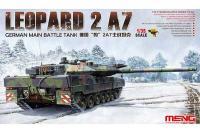 Сборная модель - Leopard 2A7 немецкий основной боевой танк (MENG TS-027) 1/35