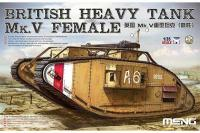 Сборная модель  - British Heavy Tank Mk.V Female (MENG TS-029) 1/35
