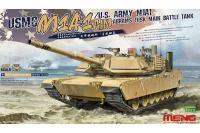 Сборная модель - M1A1 ABRAMS TUSK (Абрамс) американский танк (MENG TS-032) 1/35