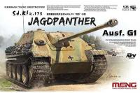 Сборная модель - German Tank Destroyer Sd.Kfz. 173 Jagdpanter Ausf. G1 (MENG TS-039) 1/35