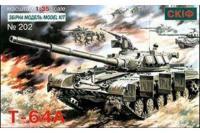 Сборная модель - Т-64 А Cоветский боевой танк (Skif 202) 1/35
