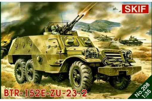 БТР-152 з зенітною установкою ЗУ-23-2 (Skif 208) 1/35