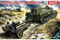 Артиллерийский комплекс на базе МТ-ЛБ (Skif 213) 1/35