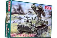 Сборная модель - Легкий ракетный комплекс 9К35 «Стрела-10СВ» - STRELA-10SV Soviet light rocket landing complex (Skif 216) 1/35