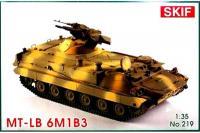 МТ-ЛБМ 6M1B3 Советский бронированный тягач (Skif 219) 1/35