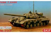 Сборная модель - Т-64АК Советский командирский танк (Skif 227) 1/35