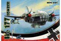 Сборная модель - He 177 Bomber (Сборка без клея) (mPLANE-003) 1/72