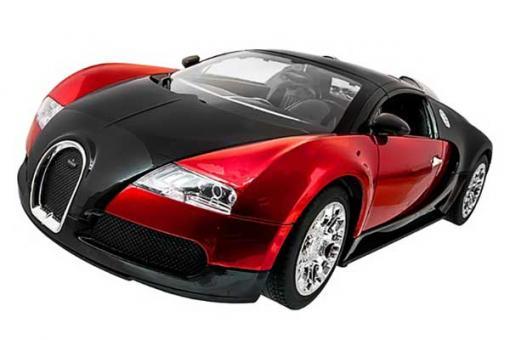 Bugatti Veyron (червона) (MEIZHI 2032r) 1/14