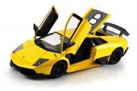 Машинка р/у 1:18 Meizhi лиценз. Lamborghini LP670-4 SV металлическая (желтая)