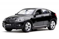 Машинка р/у 1:24 Meizhi лиценз. BMW X6 металлическая (черная)