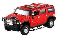Машинка р/у 1:24 Meizhi лиценз. Hummer H2 металлическая (красная)
