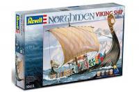 Подарочный набор со сборной моделью корабля Northmen (Revell 05415) 1/50