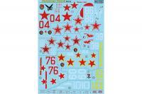 Декаль для самолета Як-9К, часть 2 (Print Scale 48-095)