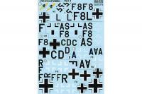 """Декаль для самолета Focke- Wulf Fw 200 """"Condor"""", часть 4 (Print Scale 72-245) 1/72"""