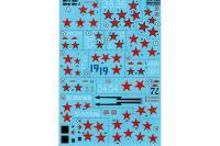 """Декаль для самолета МиГ-3 """"Асы Второй Мировой Войны"""" (Print Scale 72-283) 1/72"""