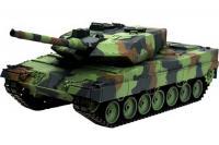 Радіокерований танк Leopard II A6 з пневмогарматою і димом (Heng Long HL3889-1) 1/16
