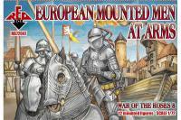 Сборные фигуры - Европейская кавалерия - Война Роз 8 (Red Box 72047)