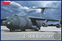 Сборная модель Транспортный самолет C-141B Starlifter (Roden 331) 1/144