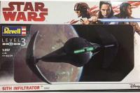 Сборная модель - Sith Infiltrator космический корабль (REVELL 03612) 1/257
