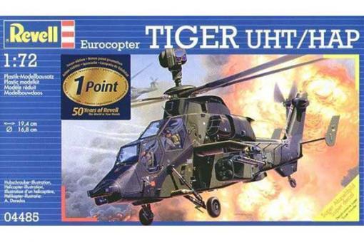 Сборная модель - вертолет Eurocopter Tiger UHT (REVELL 04485) 1/72