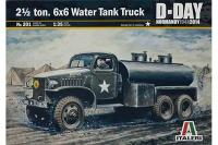 2 ½ Ton, 6x6 Water Tank Truck (ITALERI 201) 1/35