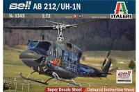 AB 212/UH-1N (ITALERI 1343) 1/72