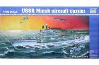 Авіанесучий крейсер «Мінськ» (Trumpeter 05703) 1/700