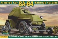 БА-64 залізнична версія (ACE 72264) 1/72