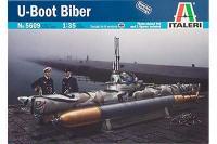 Biber Midget Submarine (ITALERI 5609) 1/35