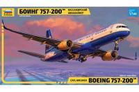 Boeing 757-200 (ZVEZDA 7032) 1/144