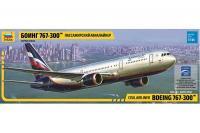 Boeing 767-300 (Zvezda 7005) 1/144