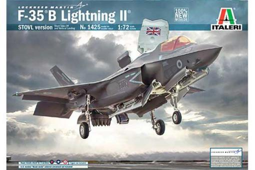 F-35 B Lightning II STOVL version (ITALERI 1425) 1/72