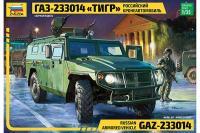 """ГАЗ-233014 """"Тигр"""" (ZVEZDA 3668) 1/35"""