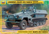 """Ханомаг"" Sd.Kfz 251/1 AusF.B (ZVEZDA 3572) 1/35"